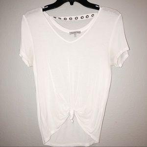 White Tied Tee-Shirt